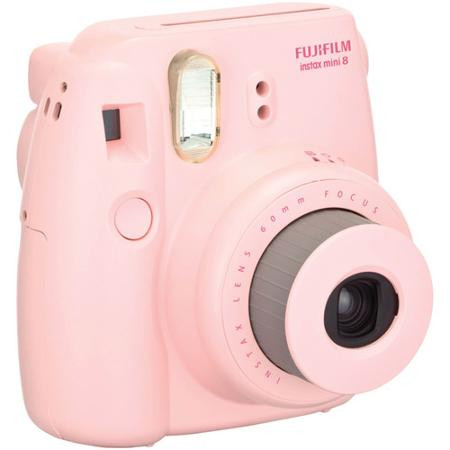 Fujifilm InstaX Mini 8 Pink Polaroid Camera