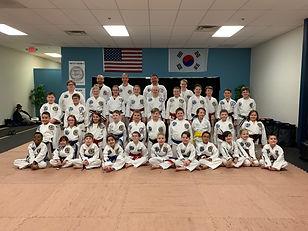 McClellan's Taekwondo Academy Testing