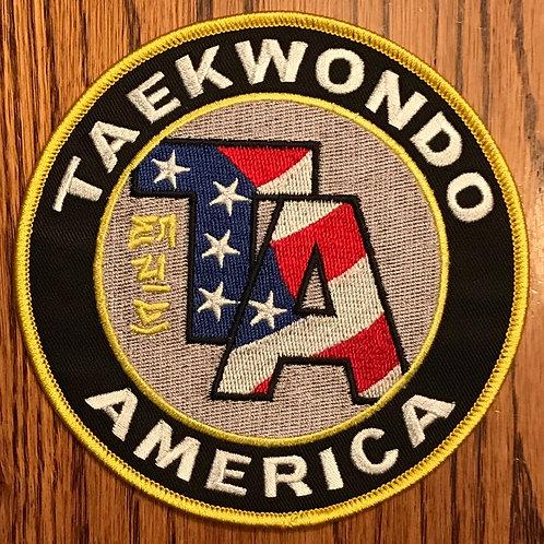 Taekwondo America Patch