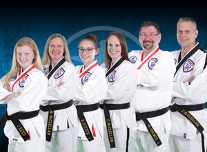 Instructors at McClellan's Taekwondo Academy