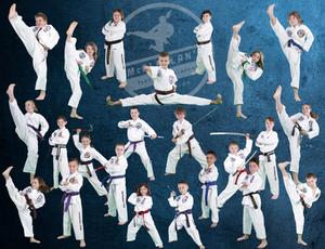 Leadership Team at McClellan's Taekwondo Academy