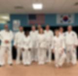 McClellan's Taekwondo Academy Adult Students