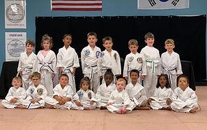McClellan's Taekwondo Academy Little Ninjas
