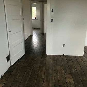 Laminate flooring for a brand new house