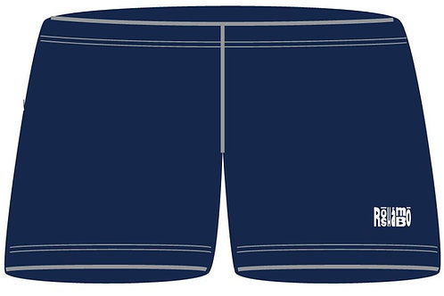 "3"" Inseam Spandex With Printed RoShamBo Logo"
