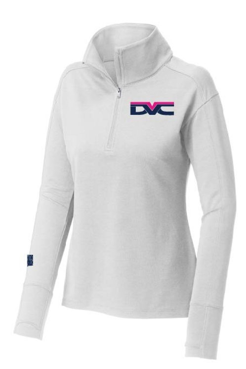 White Flex Fleece w/ Embroided DVVC