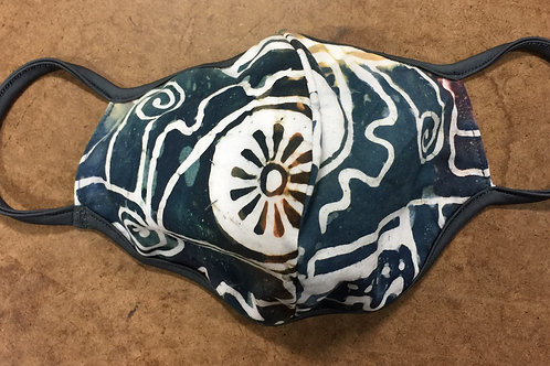 Earthy Batik Cover