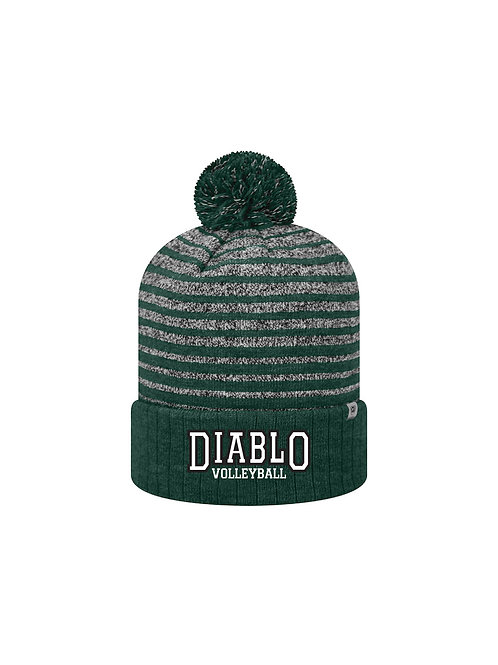 Beanie w Embroided Diablo