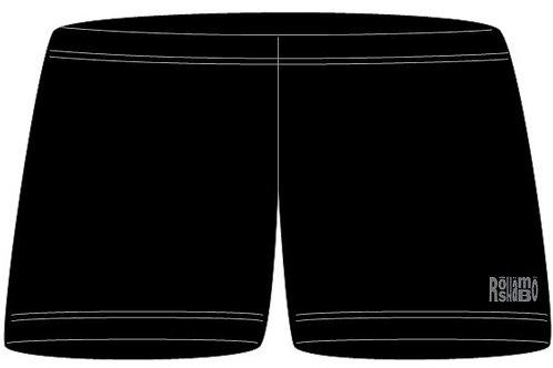 "4"" Inseam Spandex With Printed RoShamBo Logo"