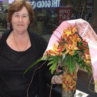 Champion Floral Art Coralie Jolliffe