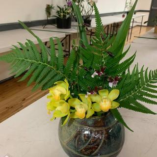 Floral Art in Vase