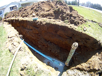 Sewer Lateral Tie-in Fairport NY