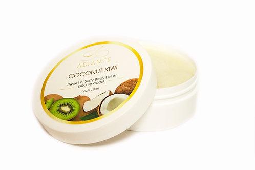 Coconut Kiwi Sweet N' Salty Body Polish