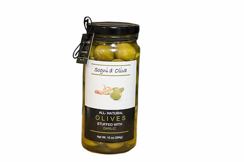 Garlic Stuffed Olives - SOLD OUT!