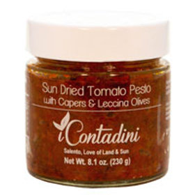Sundried Tomato Pesto with Capers & Olives