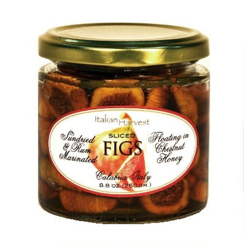 Rum Marinated Sliced Figs In Chestnut Honey-OUT OF STOCK