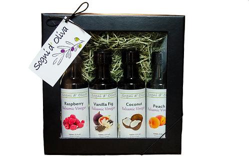 Sogni d' Oliva Balsamic Vinegar Set