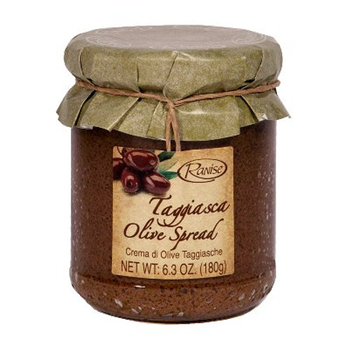 Black Taggiasca Olive Tapenade- OUT OF STOCK