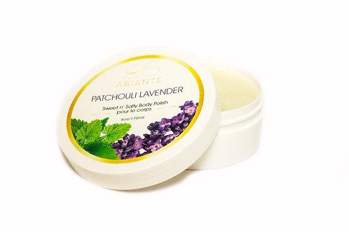 Patchouli Lavender Sweet N' Salty Body Polish