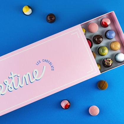 Boîtes de chocolats assortis