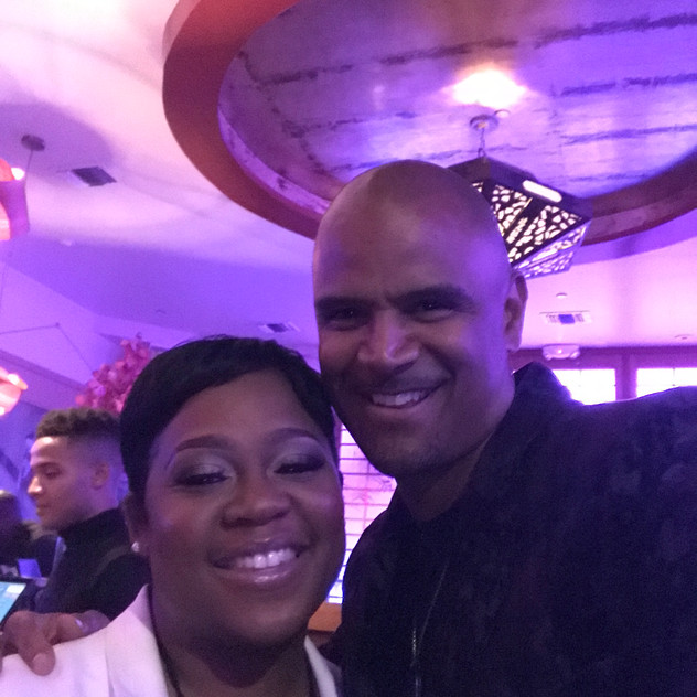 Me and Dondre Whitfield.