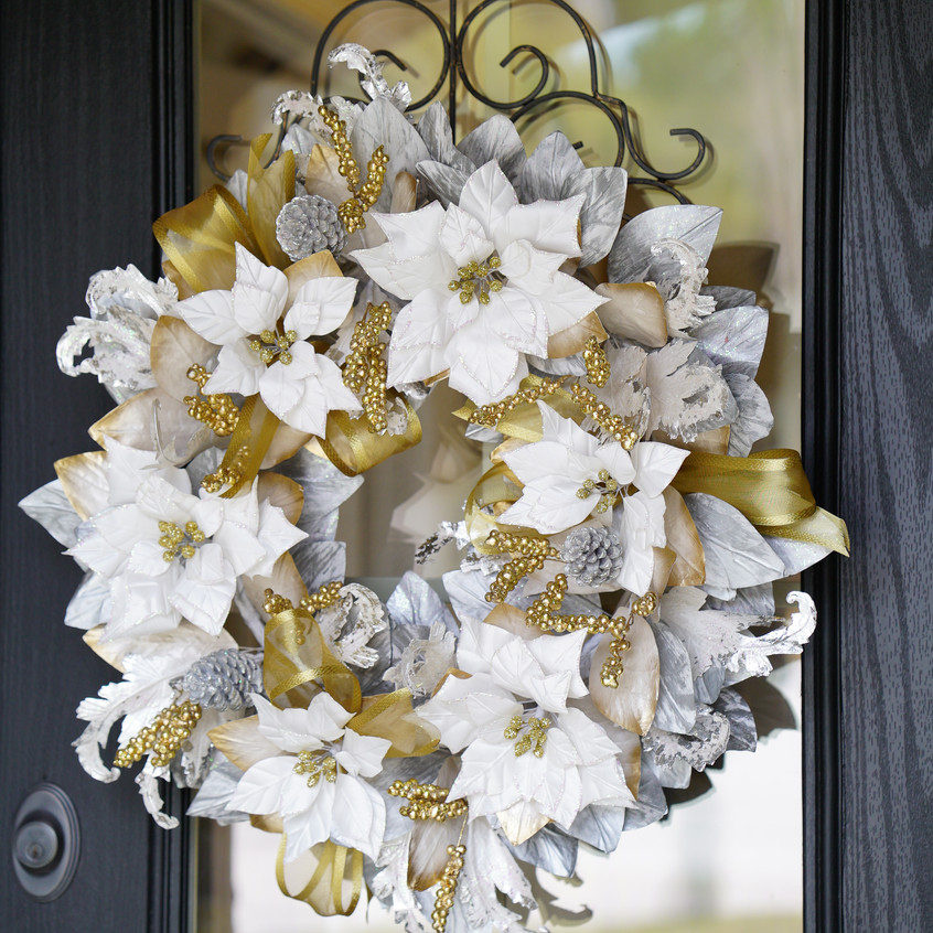 This wreath is an online exclusive sold @ Pier 1.
