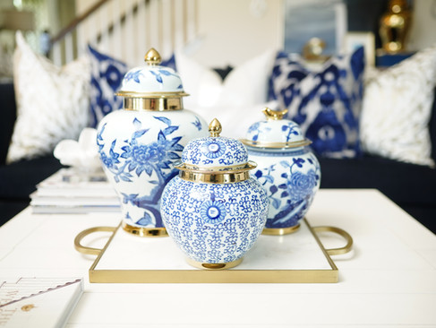 Summer Styling With Ginger Jars