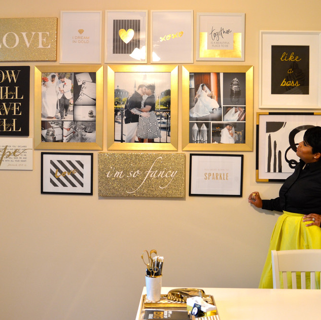 Yeah, I think I like it. I can totally work with this gallery wall!