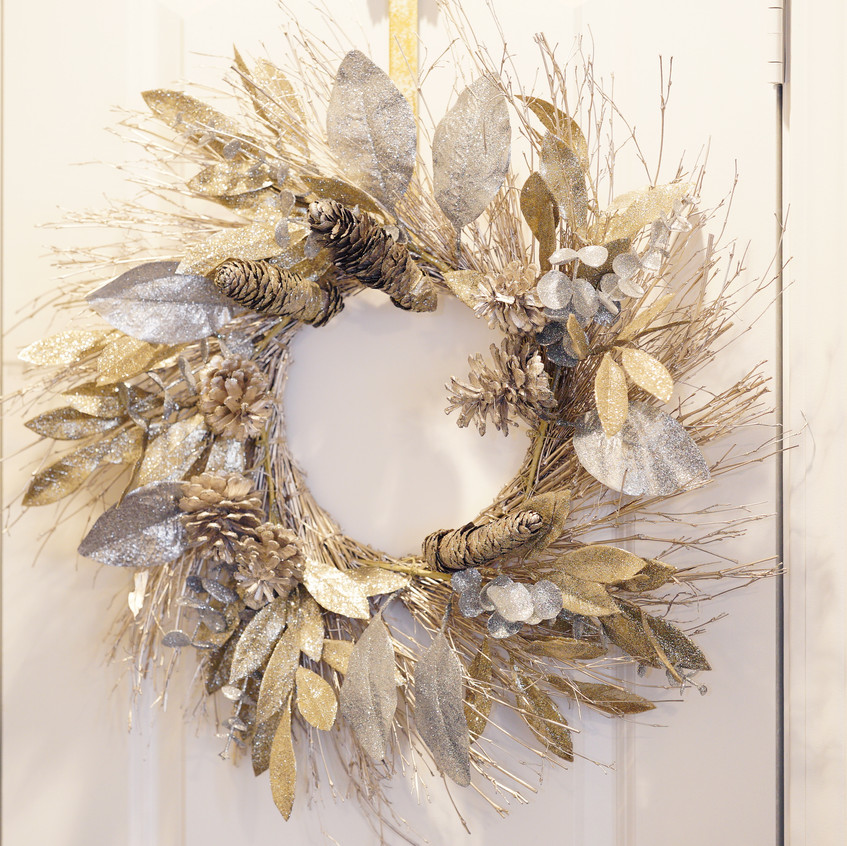 This wreath can be purchased from Kohl's