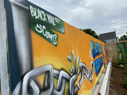 BLM Mural at Swift Factory