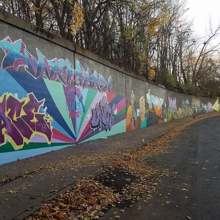 PeaceLoveUnityMural-Hartford-CT Murals-R