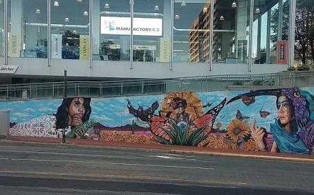 Cirque du Soleil Hires nonprofit, RiseUP, to produce Downtown Mural