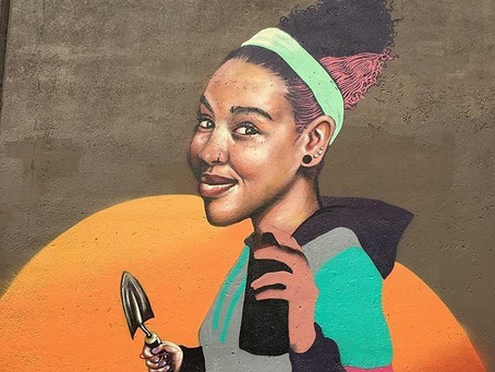 Hartford Community Organizations Paint Mural