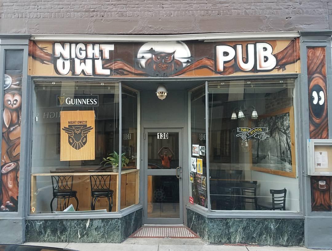 Commercial Mural: Night Owl Mural