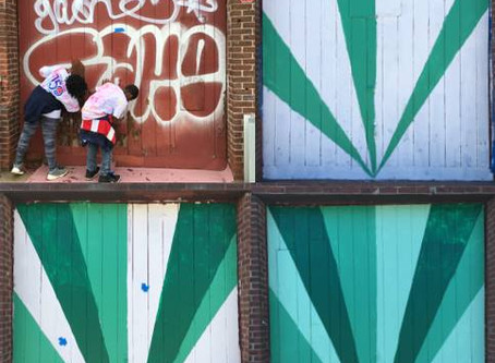 Murals Help Reduce Vandalism on Public and Private Property