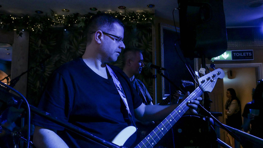 Phil Hancox - Bass Guitar
