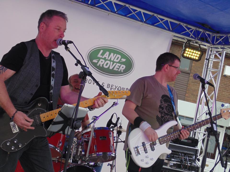 Live at Sandbach Transport Festival April 2019