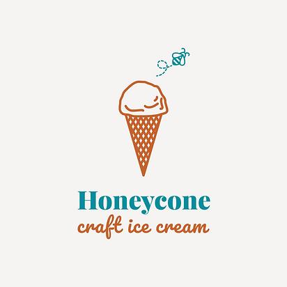 honeycone craft ice cream
