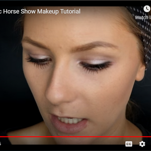 Horse Show Make-up How to Video