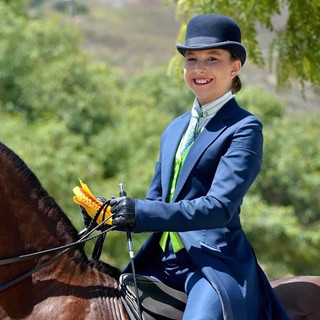 Lindsay and UVM Odyssey GCH @ Labor Day Classic Horse Show 2020