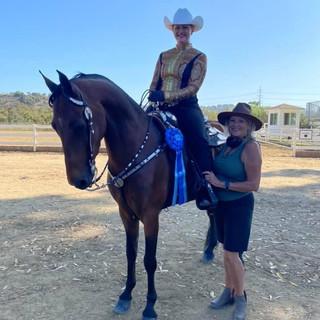 Brooke, Linda and Sam Spade @ Labor Day Jubilee Horse Show 2020