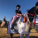 Georgia and Leona (aka Elvis) @ Fall Fun Horse Show 2020