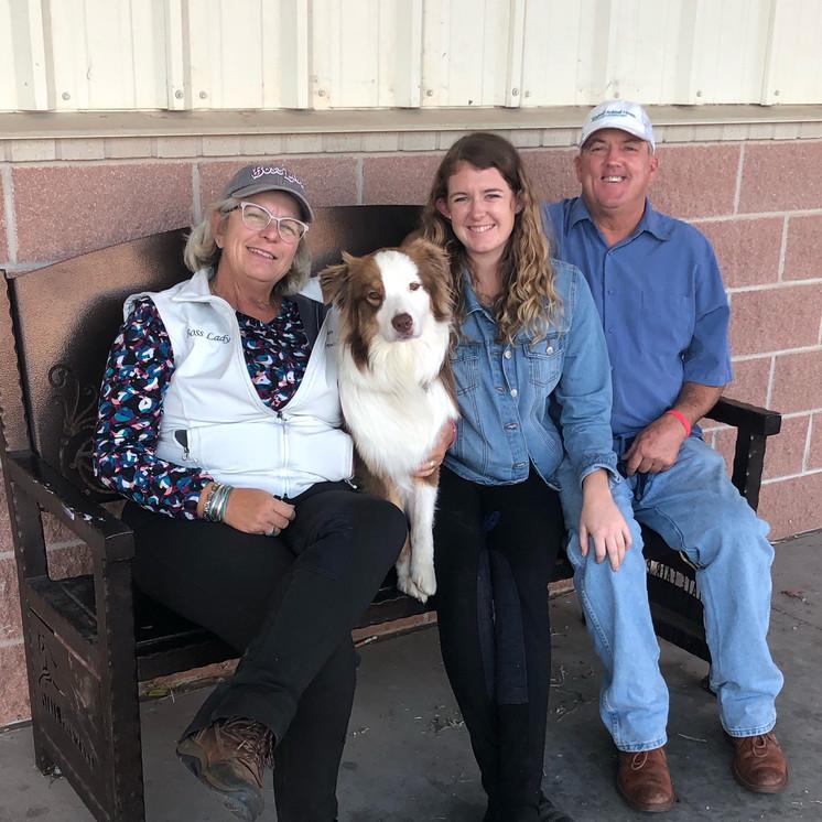 Miller Family - Ann, Frosty, Savannah and Frank