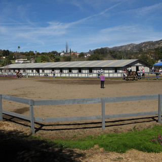 Main Arena with Arena Sand Footing