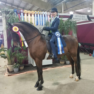 Lindsay and UVM Odyssey GCH @ Grand National & World Championship Horse Show 2020