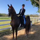 Lucia and Naughty @ Labor Day Classic Horse Show 2020
