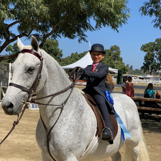 Tyla and Clark @ Labor Day Classic Horse Show 2020