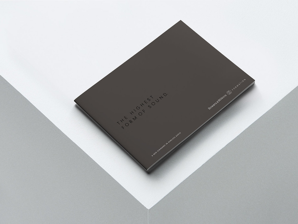 Bowers & Wilkins Formation Brochure