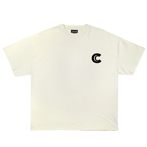 OVERSIZED TSHIRT IN COTTON  WITH CARLYLES LOGO