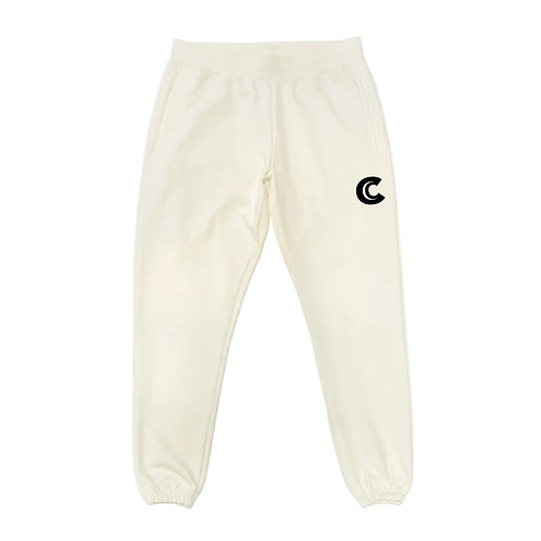 SWEATPANT IN COTTON  WITH CARLYLES LOGO